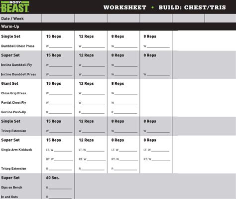 worksheet p90x chest and back worksheet grass fedjp