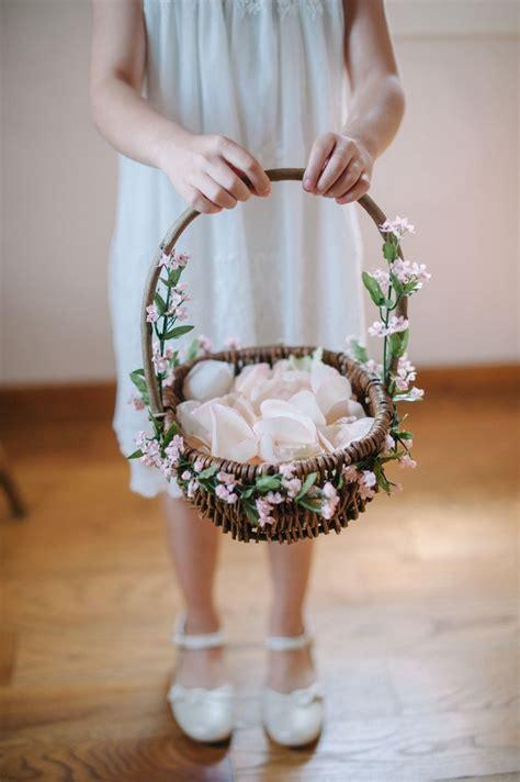 ideas  flower girl basket  pinterest