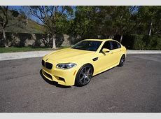 Dakar Yellow F10 BMW M5 Rare Cars for Sale BlogRare Cars