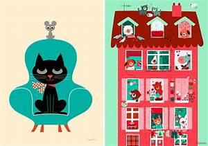 Poster Chambre Bébé : l 39 affiche moderne r ves de papier mon b b ch ri blog b b ~ Teatrodelosmanantiales.com Idées de Décoration