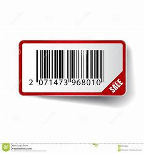 Barcode Sticker With SALE Tag. Vector Stock Vector - Image ...
