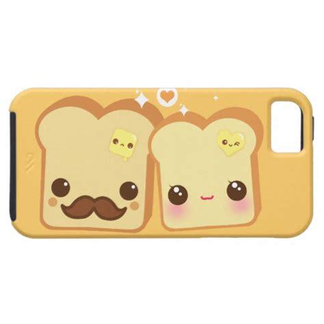 kawaii iphone 5 kawaii toasts iphone se 5 5s zazzle
