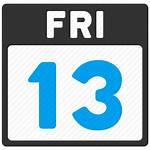 Friday Calendar 13th Transparent Date Thirteen Pngio