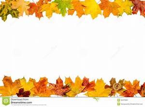 Bilder Mit Weißem Rahmen : autumn leaves frame stockfoto bild 45475991 ~ Indierocktalk.com Haus und Dekorationen