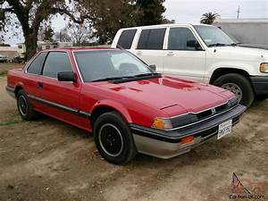 Rare 1983 Honda Prelude - Dual Carbs - New Red Paint