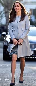 Kate Middleton's £195 Seraphine 'Natasha' blue coat sells ...