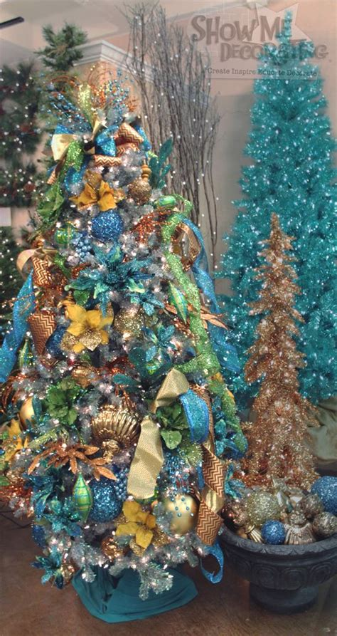 peacock christmas tree theme peacock decorations