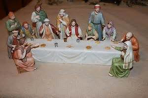 home interior jesus figurines home interior quot supper quot jesus figurines home interiors and lord