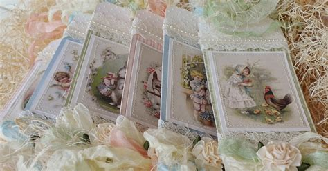 le shabby chic frilly and funkie saturday step by step shabby chic tag tutorial