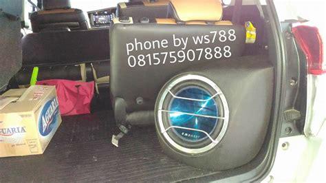 Custom Audio Minimalis work shop car audio semarang ws788 custom box audio