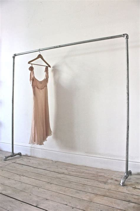 how to make hanging clothes rack galvanised steel pipe simple elegant freestanding by inspiritdeco made with kee kl fittings