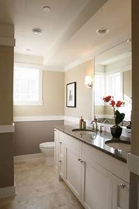 My Private Place: Bathroom w Neutral wall color