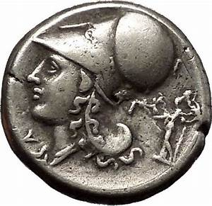 CORINTH 375BC Athena Pegasus Silver Stater Authentic ...