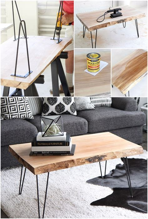 super cool easy   diy coffee table ideas home magez