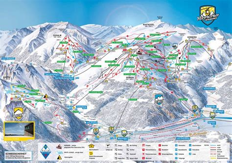 Fancy Chair by Mayrhofen Piste Map Ziller Valley Piste Map My Chalet