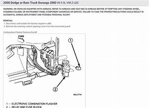 Replacing Turn Signal Flasher  1999 Dodge Durango Turn