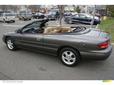 2000 Chrysler Sebring Jxi by Taupe Metallic 2000 Chrysler Sebring Jxi Convertible