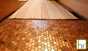* Happyroost*: Penny Floor Tutorial