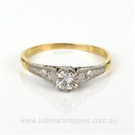 buy 1930 s art deco diamond engagement ring sold items