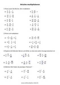 brüche vereinfachen mathe übungen klasse 6