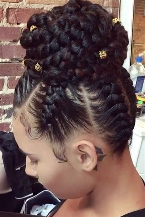 Black Updo Braids Hairstyles by 20 Braided Prom Hairstyles Fit For A Hair Braids