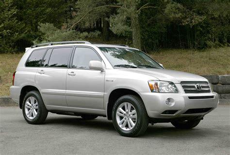 Toyota Highlander 4wd 2006 toyota highlander hybrid 4wd autoguide news