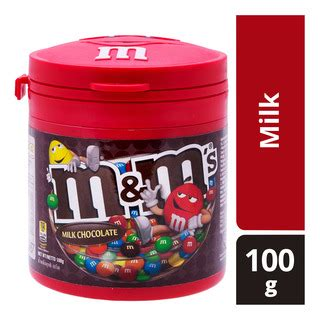 m m milk chocolate canister g m m s chocolate candies milk