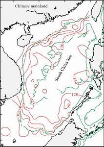 Sketch Map Showing Distribution Of Radiolarian Diversity