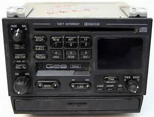 1993-1997 Geo Metro Factory Stereo Tape  U0026 Cd Player Combo Oem Radio
