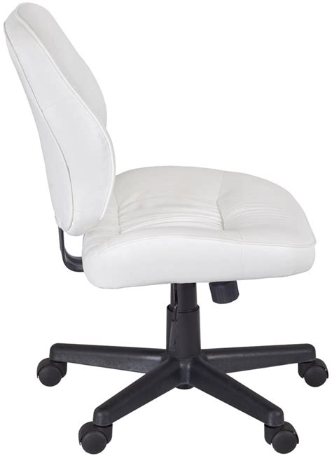 cirrus height adjustable armless task chair with casters