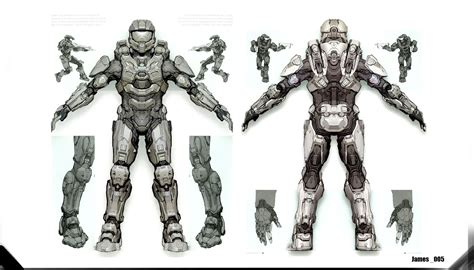 Halo 4 Master Cheif Armor Concept In 2019 First Board