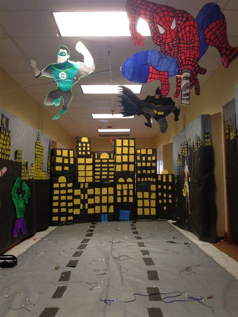 hopi high school homecoming  hallway decoration