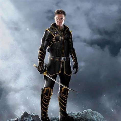 Avengers Endgame Fan Art Imagines Hawkeye Armoured