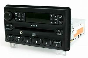2001-04 Ford Mustang Explorer Mercury AM FM CD Radio w Aux Input 3L2T-18C815-UA - 1 Factory Radio