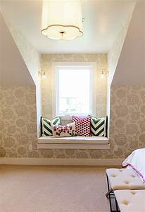 Girl39s Window Seat Contemporary Girl39s Room Utah