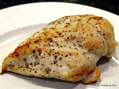 temp for boneless chicken breast pan seared oven roasted skinless boneless chicken breast 101 cooking for two