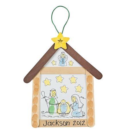 nativity thumbprint sign craft kit orientaltrading 783 | cedae4c4846e98e5180fb71f8ffabd70