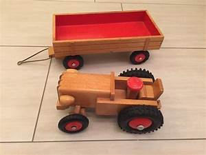 Holz Machen Mit Traktor : ddr traktor aus holz mit anhaenger von heisso thueringen ddr spielzeug pinterest html ~ Eleganceandgraceweddings.com Haus und Dekorationen