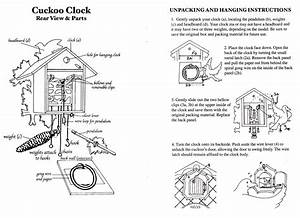 Cuckoo Clock Instructions