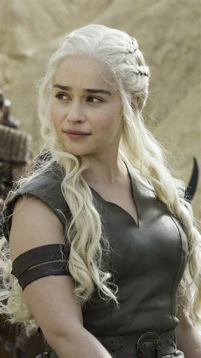 Clarke Emilia Thrones Wallpapers Daenerys Targaryen Tv
