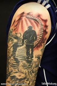 Stairway To Heaven Tattoo Sleeve Img251749 stairway to ...