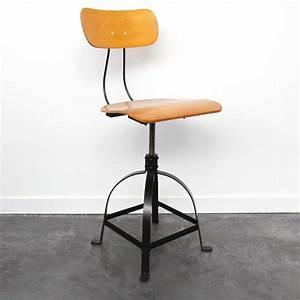 Chaise De Bar Industriel : chaise de bar r glable en hauteur ~ Teatrodelosmanantiales.com Idées de Décoration