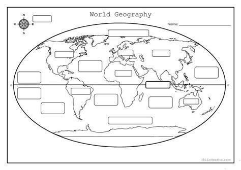 World Geography Worksheet  Free Esl Printable Worksheets Made By Teachers