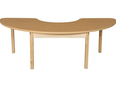 kidney table for classroom laminate kidney classroom table with hardwood legs 76x24
