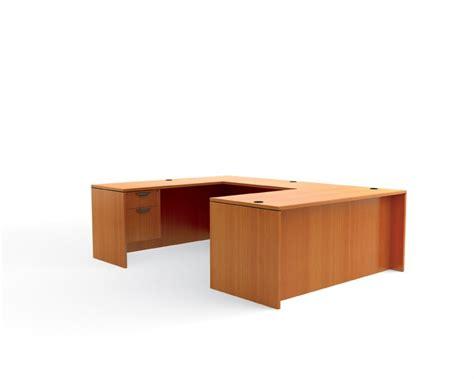 bestar desk assembly instructions reversible double pedestal laminate u shape office desk ebay