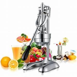 Stainless Steel Pressure Fruit Juice Machine Manual Lemon