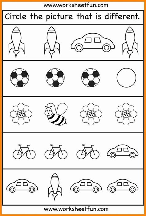 best preschool worksheets age ideas on best