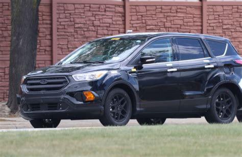 2019 Ford Escape Spy Photos, Plugin Hybrid Model 2019