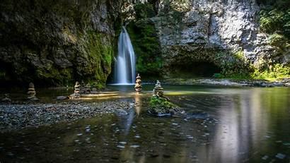 Zen Wallpapers Garden Waterfalls Wallpapersafari