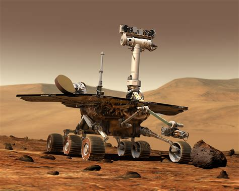 Robots In Space. Nasa, Jpl, Sojourner, Spirit And